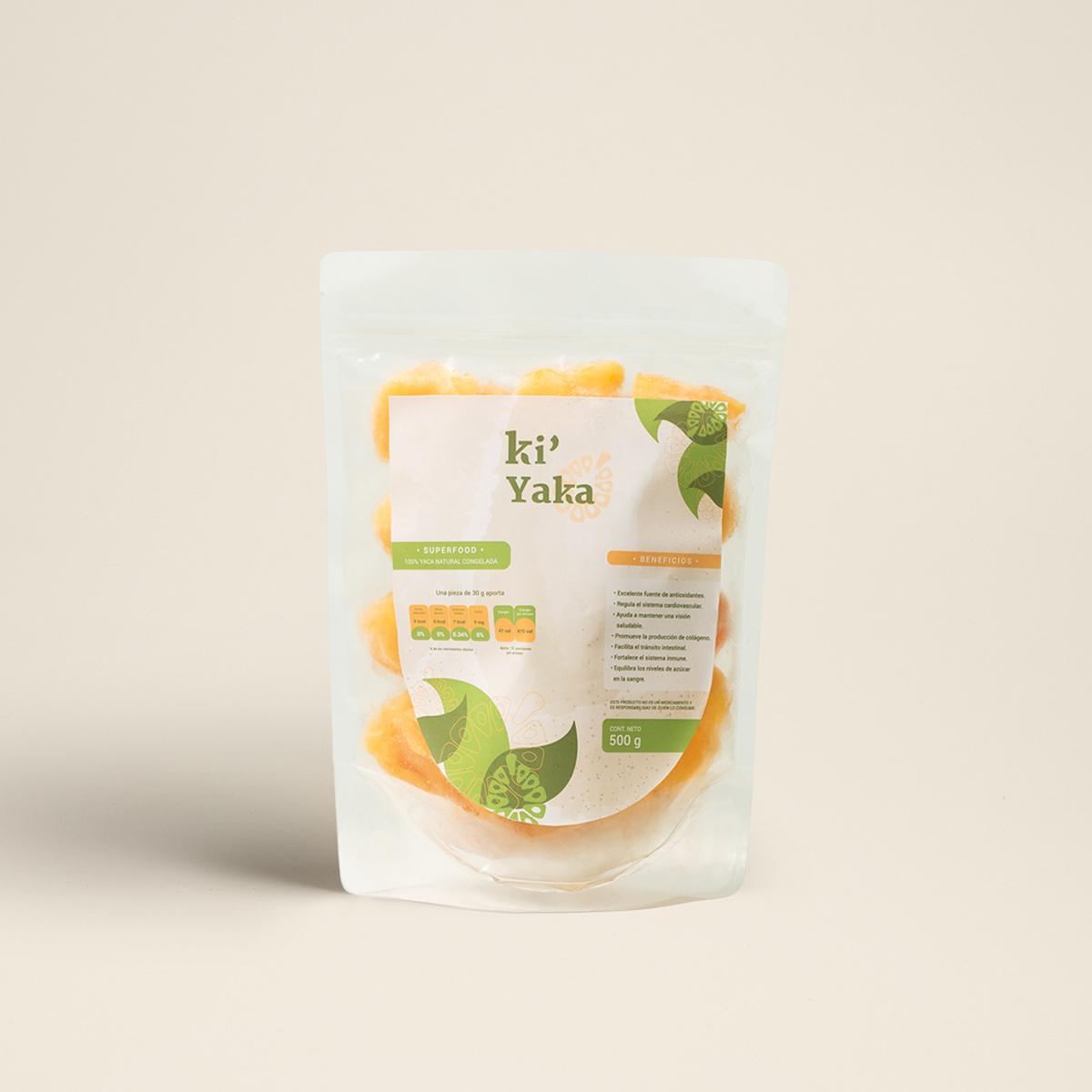 etiqueta empaque kiyaka