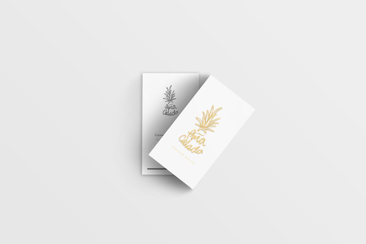 tarjeta piña colada