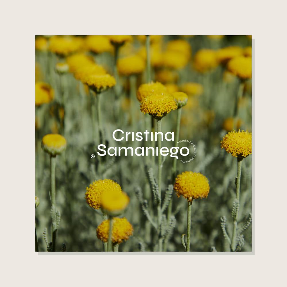 branding Cristina Samaniego