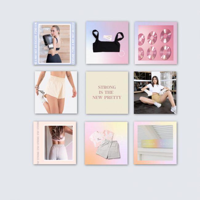 social media post instagram